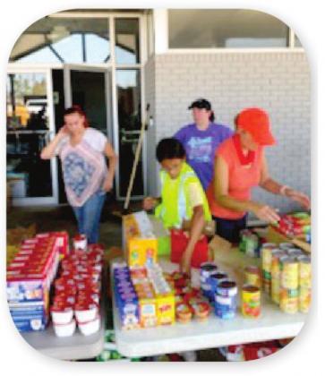 Local church helps with Hurricane Ida