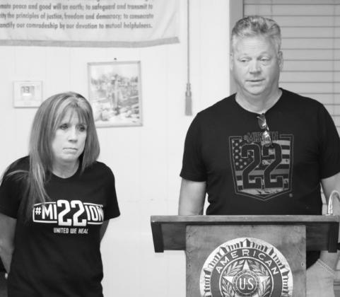 American Legion hosts speakers