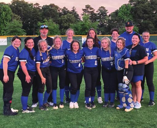 bloomburg softball takes titles, head to regional
