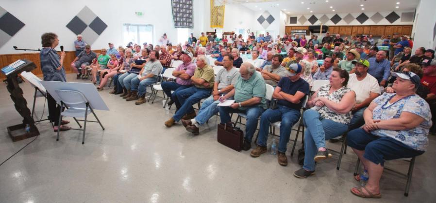 Opposition to reservoir still strong