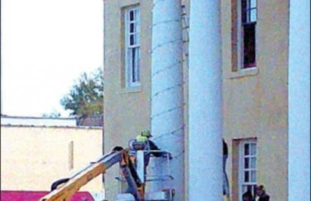Historic Courthouse gets Christmas ready