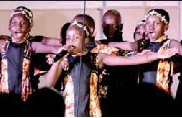 African Children's Choir performs