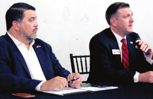 Candidates debate ahead of GOP committee vote