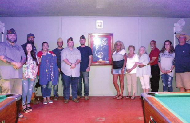 VFW dedication for devoted former auxiliary member