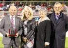 Atlanta honors Distinguished Alumni at football game