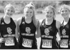 Queen City cross country competes at district meet