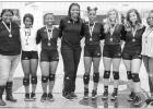 Lady Rabbs' volleyball celebrates Senior Night
