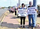 Local pro-lifers take a stand against abortion