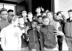 Atlanta Middle School seventh grader students tour Historical Jefferson