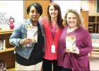 Author visits Morris Upchurch Middle School