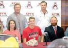 Rabbit hurler Hunter Allen signs with UA Rich Mountain