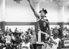 Action shots of Atlanta basketball versus Hooks