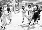 Bulldogs scrimmage New Boston